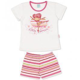 Dívčí pyžamo Kyly BALETKA bílé Velikost: 116
