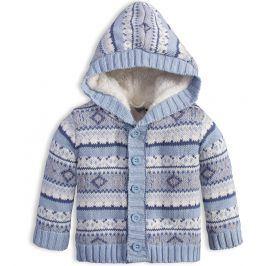 Chlapecký zateplený svetr DIRKJE FUN světle modrý Velikost: 98