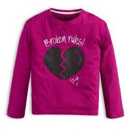 Dívčí triko LOSAN BROKEN RULES fialové Velikost: 128