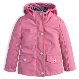 Dívčí nepromokavá bunda KNOT SO BAD DOTS PINK růžová Velikost: 68