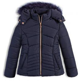 Dívčí zimní bunda LEMON BERET GREAT ADVENTURE modrá Velikost: 140