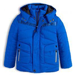Chlapecká zimní bunda LEMON BERET ESCAPE modrá Velikost: 116-122