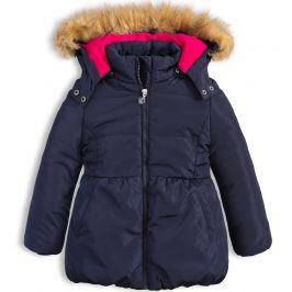 Dívčí zimní bunda LEMON BERET PRINCESS modrá Velikost: 92-98