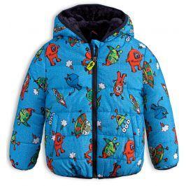 Chlapecká zimní bunda LEMON BERET PŘÍŠERKY modrá Velikost: 92-98