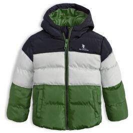 Dětská zimní bunda LEMON BERET MINI ADVENTURES zelená Velikost: 68