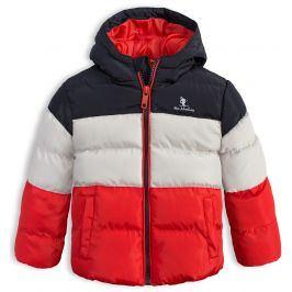 Dětská zimní bunda LEMON BERET MINI ADVENTURES červená Velikost: 68