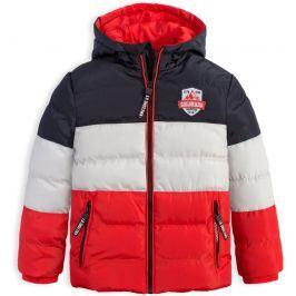 Chlapecká zimní bunda LEMON BERET COLORADO červená Velikost: 92-98