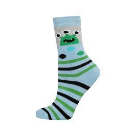 Dětské termo ponožky SOXO UFO světle modré Velikost: 25-28