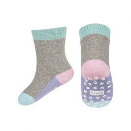 Dětské termo ponožky SOXO WINTER tyrkys světlé Velikost: 19-21