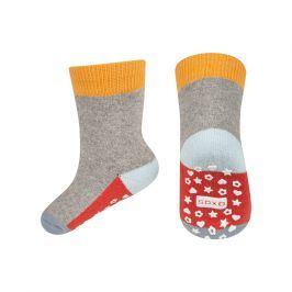 Dětské termo ponožky SOXO WINTER oranžové Velikost: 19-21