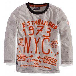 Chlapecké triko s dlouhým rukávem Minoti Velikost: 80-86