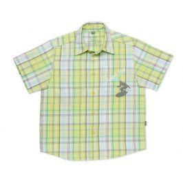 TUP-TUP Dětská košile krátký rukáv TUP TUP zelená Velikost: 128