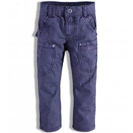 Chlapecké kalhoty s kapsami PEBBLESTONE modré Velikost: 92-98