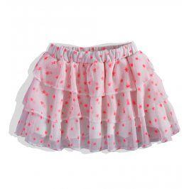 Dívčí šifonová sukně DIRKJE HVĚZDY růžová Velikost: 92