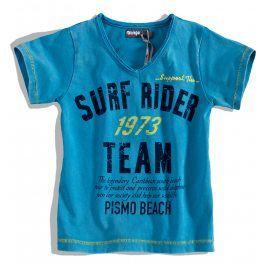 Chlapecké tričko krátký rukáv DIRKJE SURF RIDER modré Velikost: 92