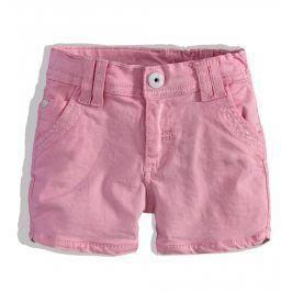 Dívčí kraťasy PEBBLESTONE růžové Velikost: 92-98