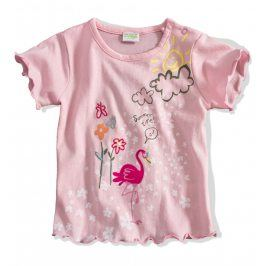 Kojenecké tričko PEBBLESTONE PLAMEŇÁK růžové Velikost: 68