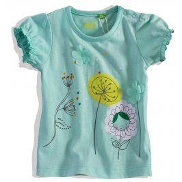 Dívčí tričko krátký rukáv PEBBLESTONE Velikost: 68