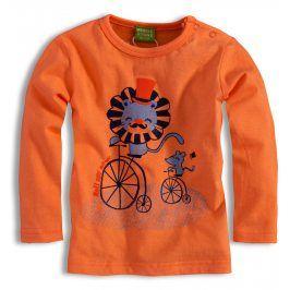 Kojenecké triko PEBBLESTONE LEV oranžové Velikost: 74
