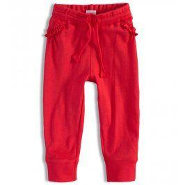 Dívčí tepláčky PEBBLESTONE červené Velikost: 68