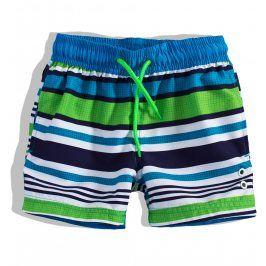 Chlapecké plavky PEBBLESTONE PROUŽKY zelené Velikost: 116