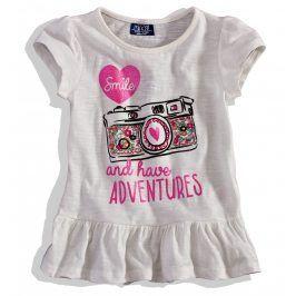 Dívčí tričko krátký rukáv Minoti ADVENTURE Velikost: 86-92