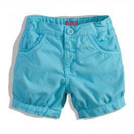 Kojenecké dívčí šortky Minoti modré Velikost: 80-86