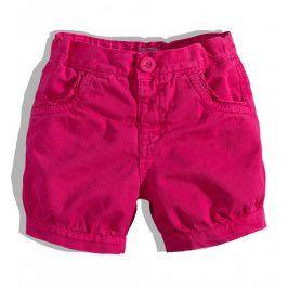 Kojenecké dívčí šortky Minoti růžové Velikost: 80-86