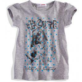 Dívčí tričko s krátkým rukávem Minoti Velikost: 98-104