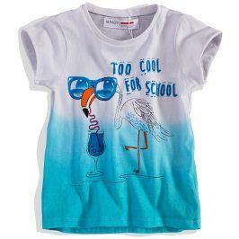 Dívčí tričko Minoti krátký rukáv Velikost: 74-80