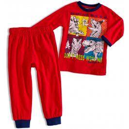 Chlapecké pyžamo Knot So Bad DINOSAUŘI červené Velikost: 92