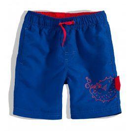 Chlapecké koupací šortky Knot So Bad FISH modré Velikost: 92