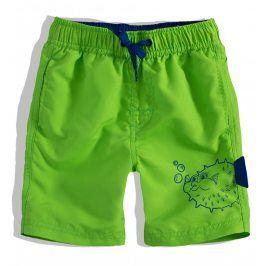 Chlapecké koupací šortky Knot So Bad FISH zelené Velikost: 92
