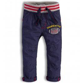 Chlapecké kalhoty Minoti DETROIT modré Velikost: 86-92