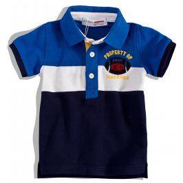 Chlapecká polokošile Minoti DETROIT modrá Velikost: 74-80