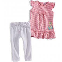 Kojenecký dívčí letní komplet Minoti růžový Velikost: 74-80