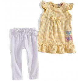 Kojenecký dívčí letní komplet Minoti žlutý Velikost: 74-80