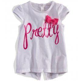Dívčí tričko krátký rukáv MINOTI GARDEN Velikost: 74-80