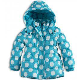Kojenecká dívčí zimní bunda MINOTI GLITTER modrá Velikost: 74-80
