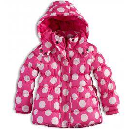 Dívčí zimní bunda MINOTI GLITTER růžová Velikost: 74-80