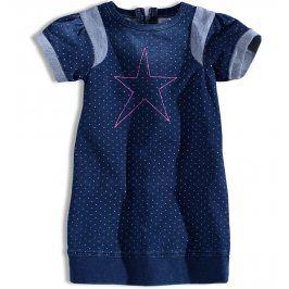 Kojenecké dívčí šaty MINOTI GLITTER Velikost: 74-80