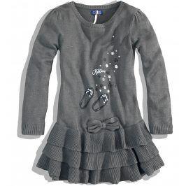 Dívčí pletené šaty MINOTI KITTY Velikost: 80-86