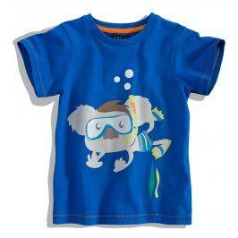 Dětské tričko krátký rukáv Minoti SCUBA modré Velikost: 80-86