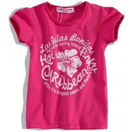 Dívčí tričko krátký rukáv MINOTI Velikost: 104-110