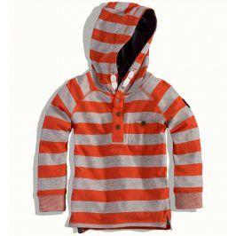 Kojenecké triko MINOTI SUPPLY oranžové Velikost: 80-86