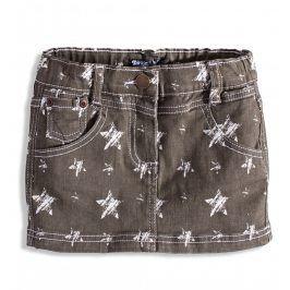 Dívčí džínová sukně DIRKJE TROPICAL STAR šedá Velikost: 104