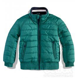 Dětská zimní bunda DIRKJE CASUAL zelená petrol Velikost: 68
