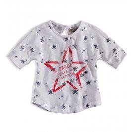 Dívčí tričko DIRKJE STAR DANCE bílé Velikost: 92
