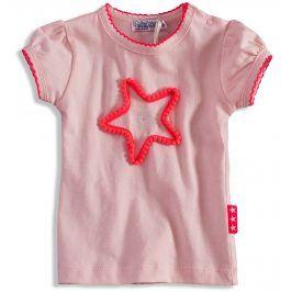 Dívčí tričko s krátkými rukávy Dirkje PINKY STAR světle růžové Velikost: 56