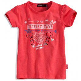 Dívčí tričko DIRKJE YAY růžové Velikost: 92